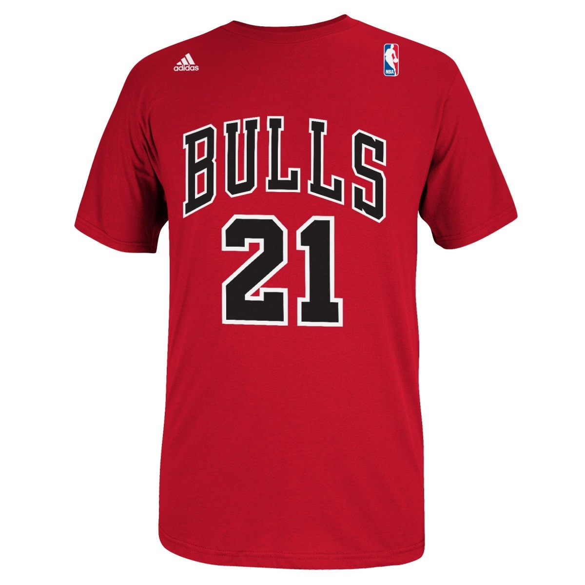 Jimmy Butler Chicago Bulls Men's NBA Adidas Player Red T-Shirt