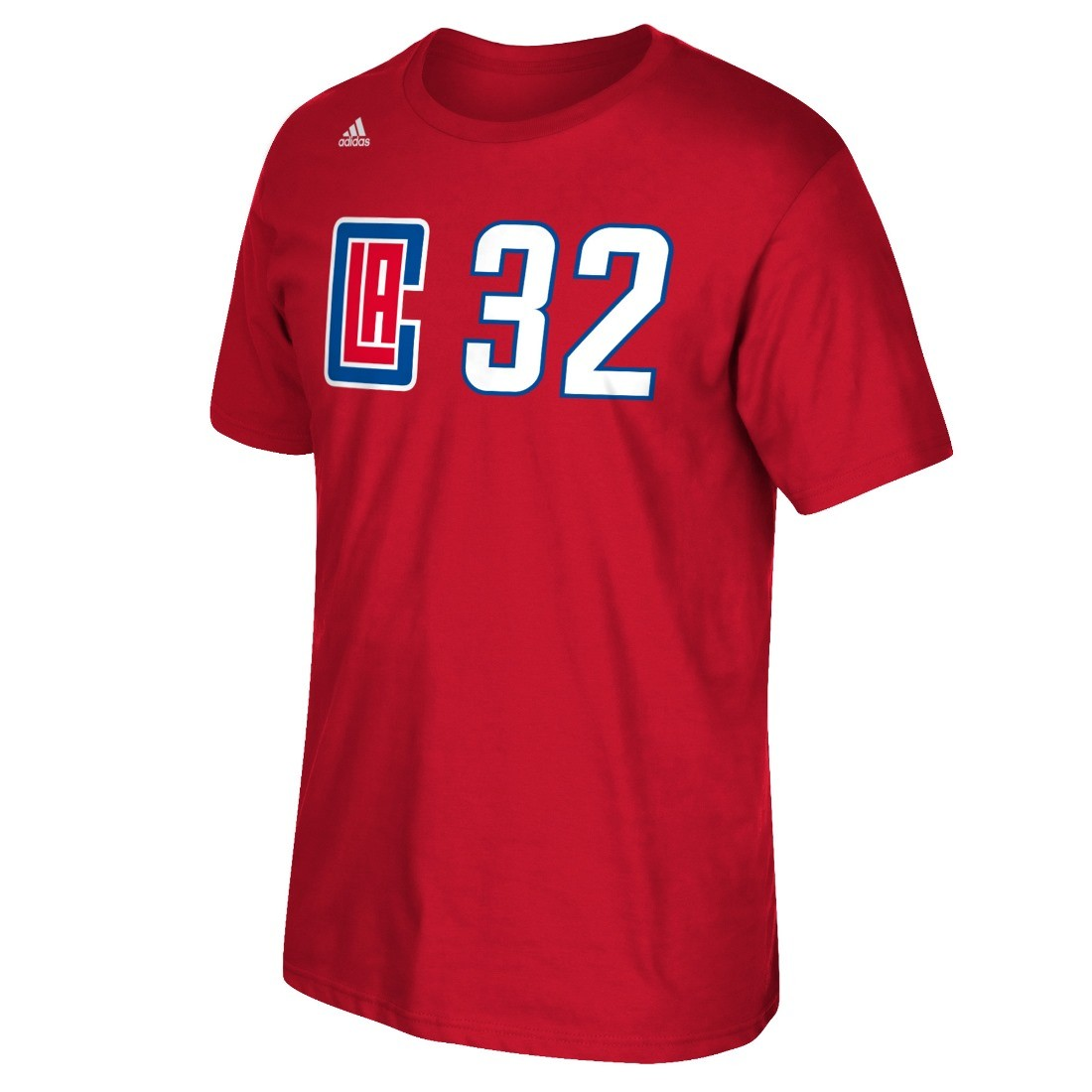 Blake Griffin Los Angeles Clippers NBA Adidas Player Red T-Shirt