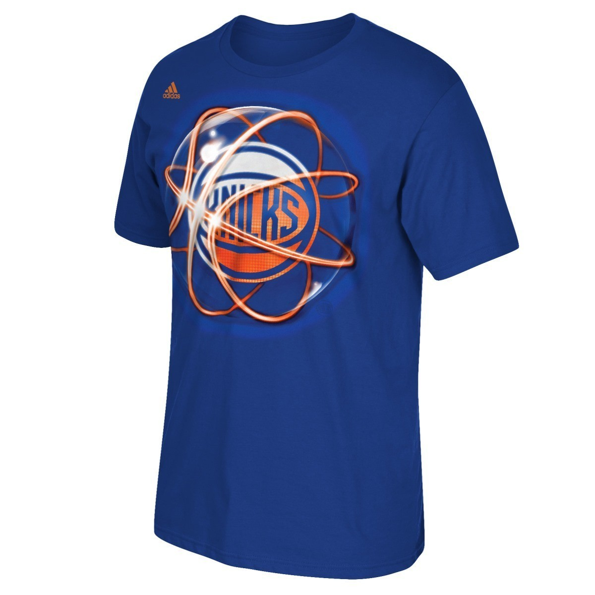 "New York Knicks Adidas NBA ""Horizons"" Premium Print S/S Men's T-Shirt"