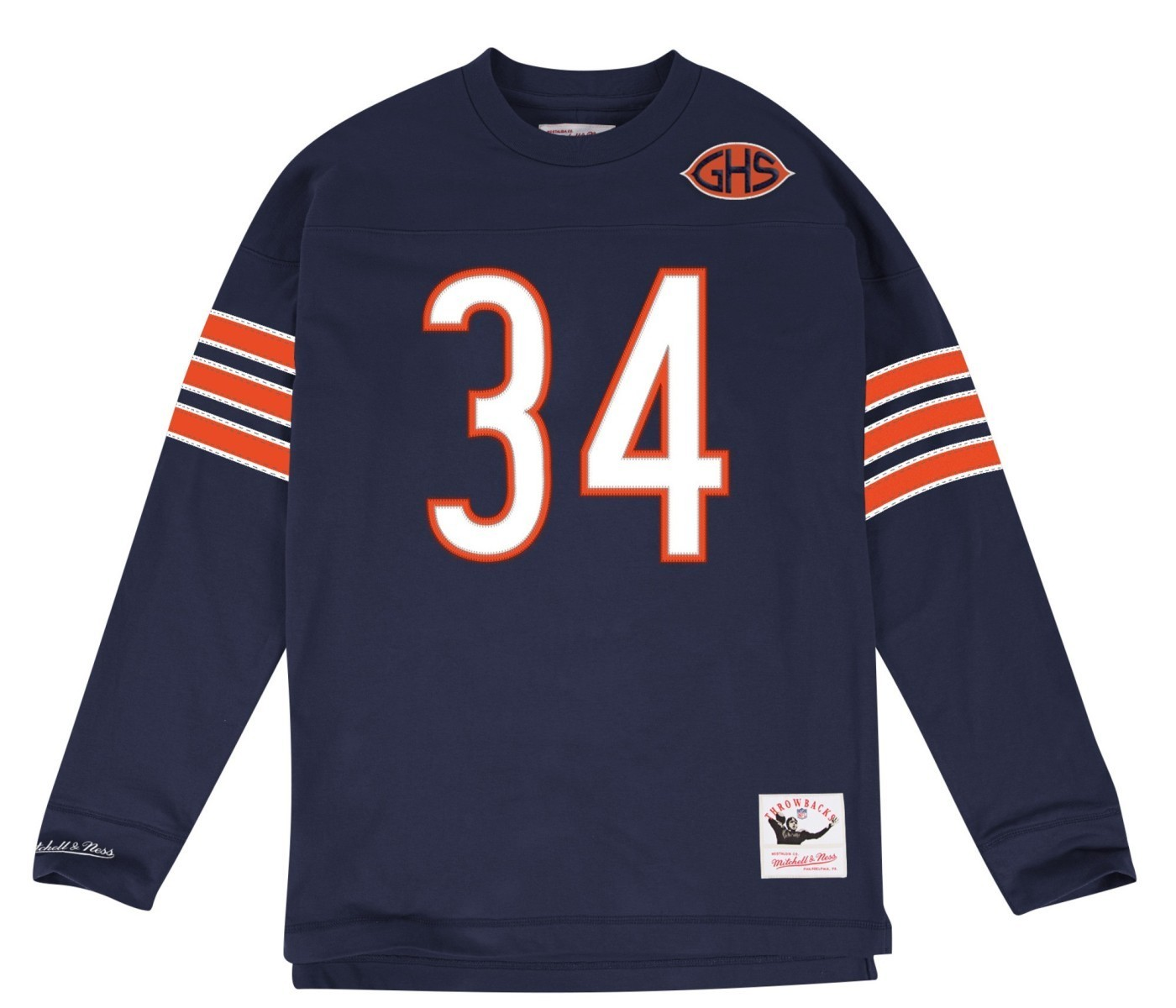 factory authentic 95bb0 ad1cf Details about Walter Payton Chicago Bears Mitchell & Ness NFL Men's