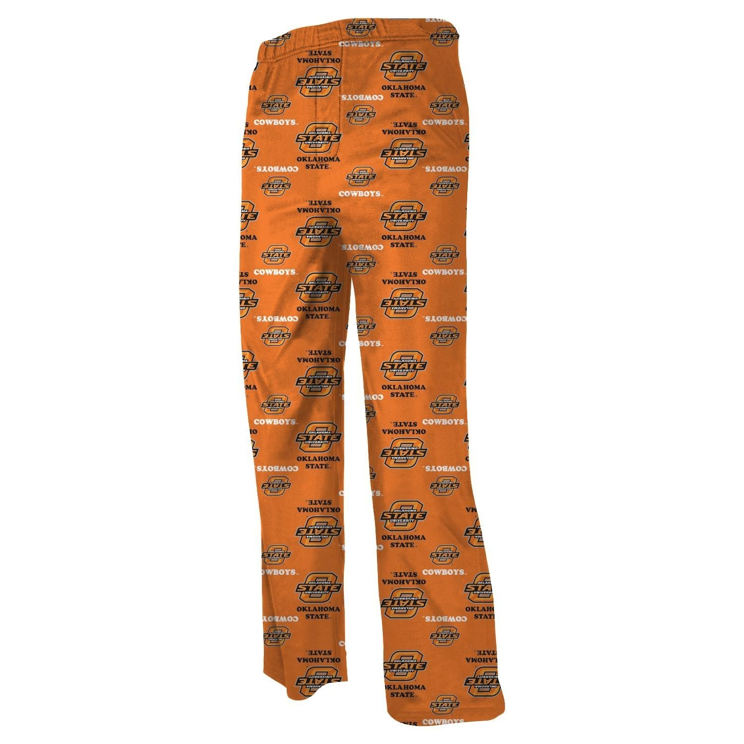 Oklahoma State Cowboys Youth NCAA Printed Logo Pajama Pants
