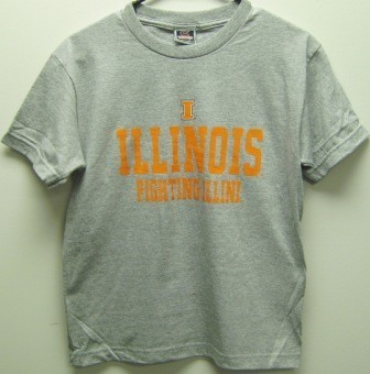 Illinois Fighting Illini Youth Formation T-Shirt