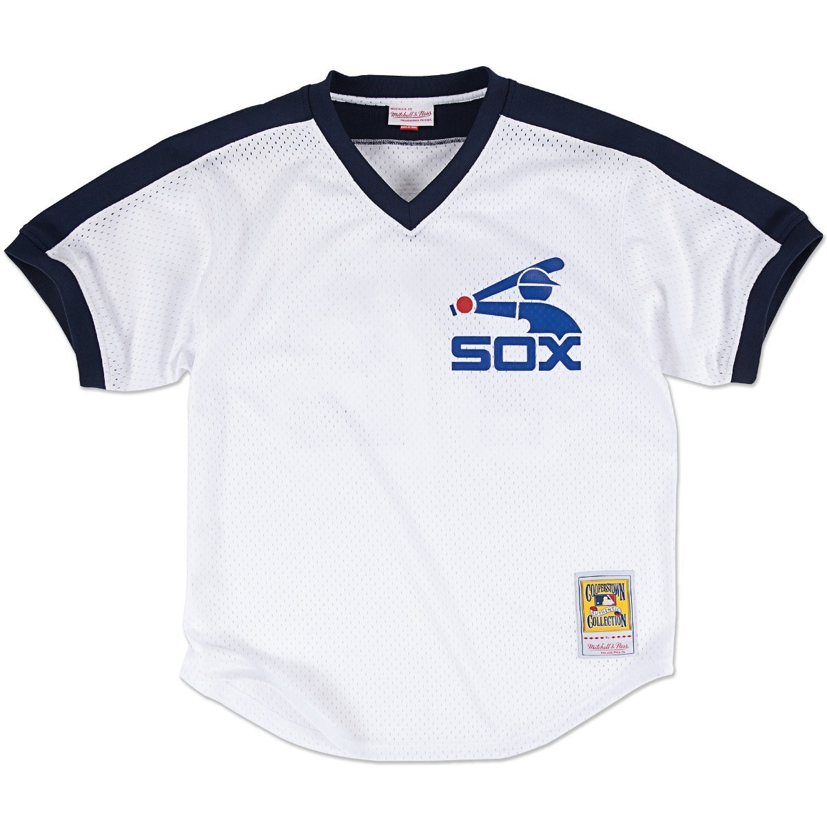Carlton Fisk Chicago White Sox Mitchell & Ness Authentic 1981 BP Jersey