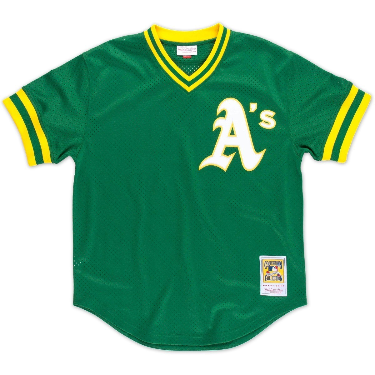 Reggie Jackson Oakland Athletics Mitchell & Ness Authentic 1987 BP Jersey