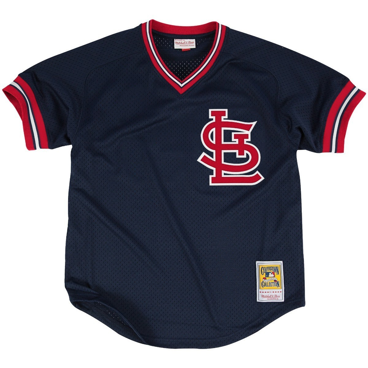 Ozzie Smith St. Louis Cardinals Mitchell & Ness Authentic 1994 BP Jersey