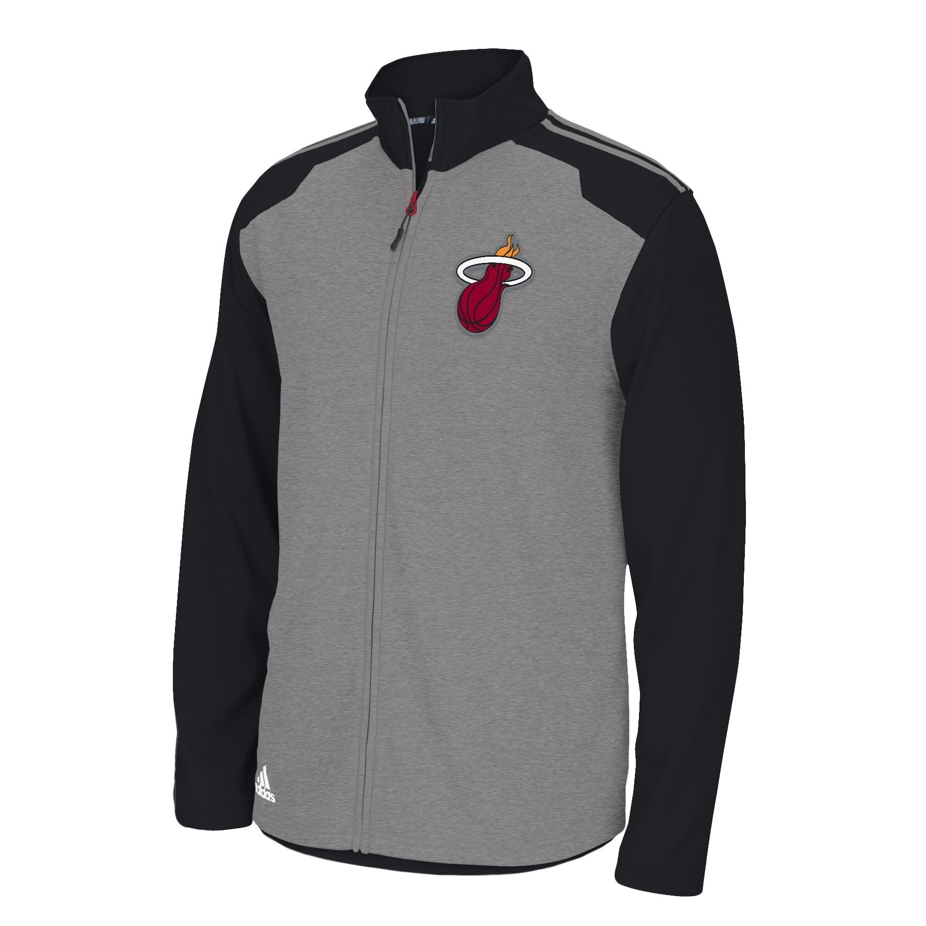 Miami Heat Adidas 2014 NBA Climawarm Full Zip Men's Fleece Jacket