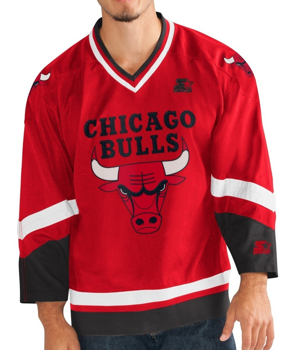 the latest bb173 8a036 Details about Chicago Bulls Starter NBA Men's