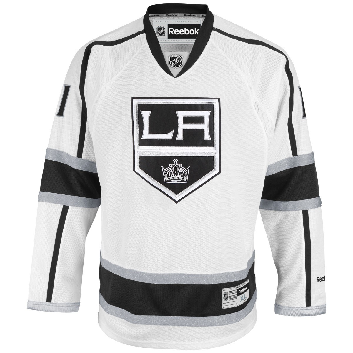 14074e311 Details about Anze Kopitar Los Angeles Kings White Reebok NHL Premier Jersey