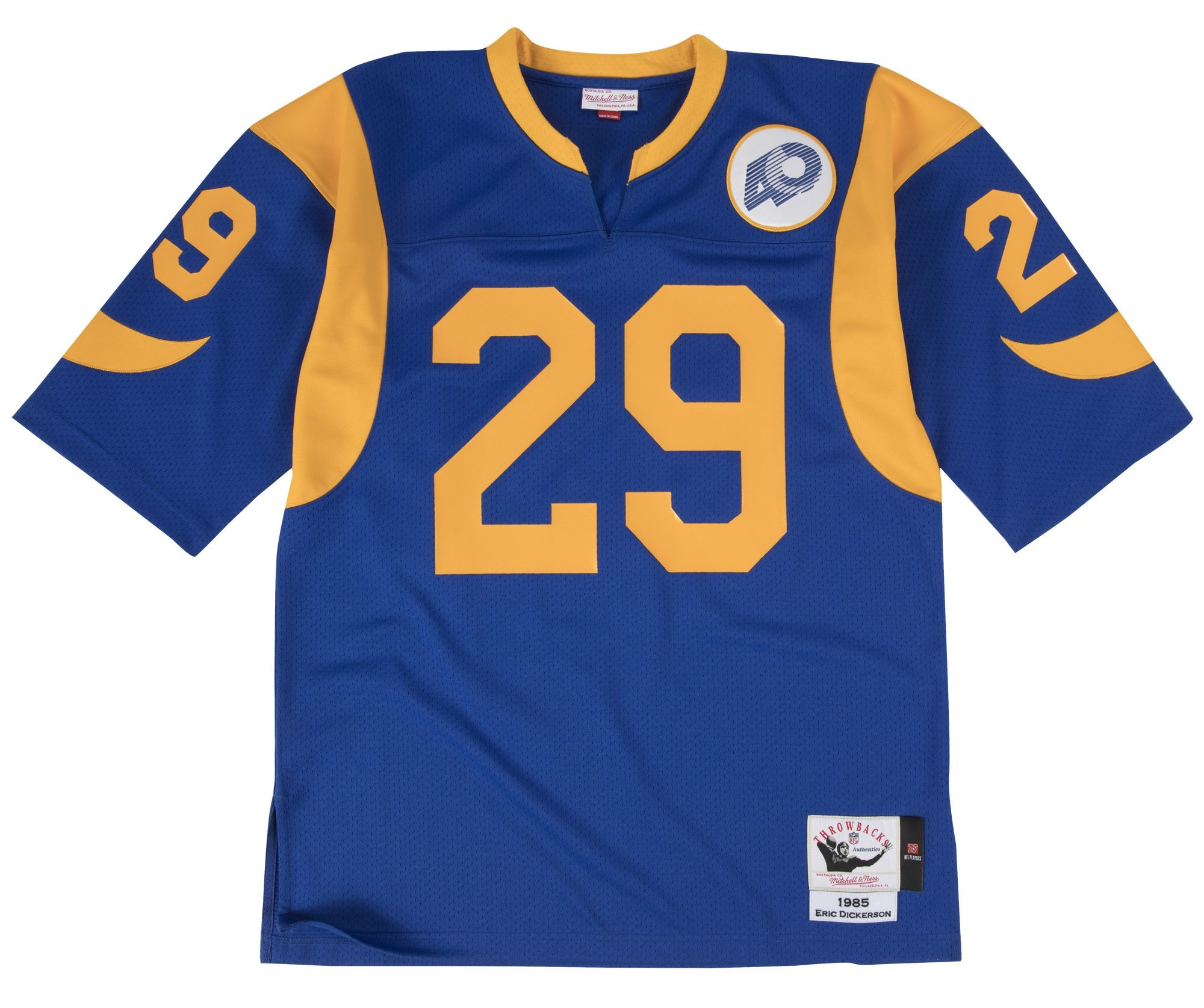 ab606408463 Details about Eric Dickerson Los Angeles Rams Mitchell   Ness Authentic  1985 Blue NFL Jersey