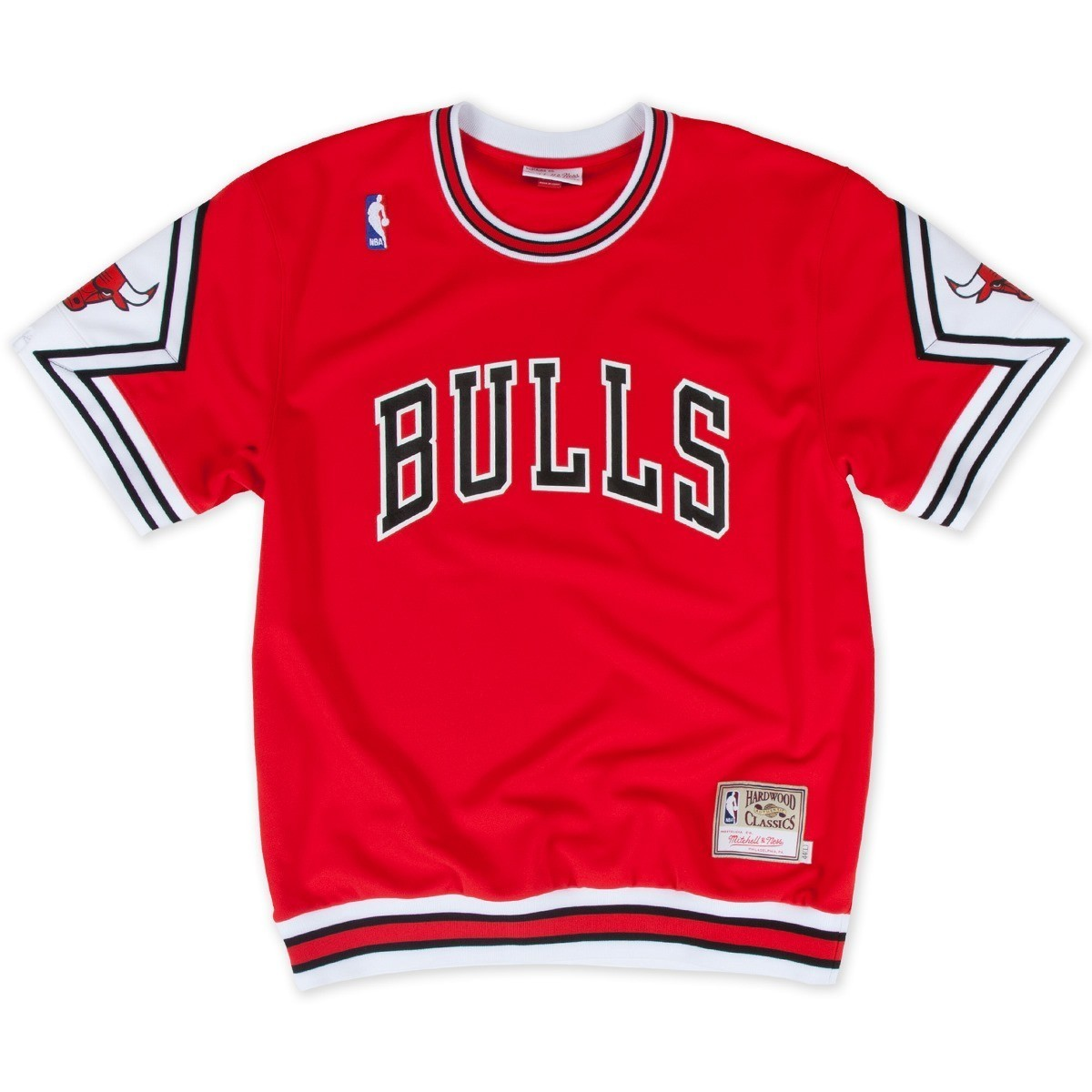 Chicago Bulls Mitchell & Ness NBA Authentic 1987-88 Road Shooting Shirt - Red