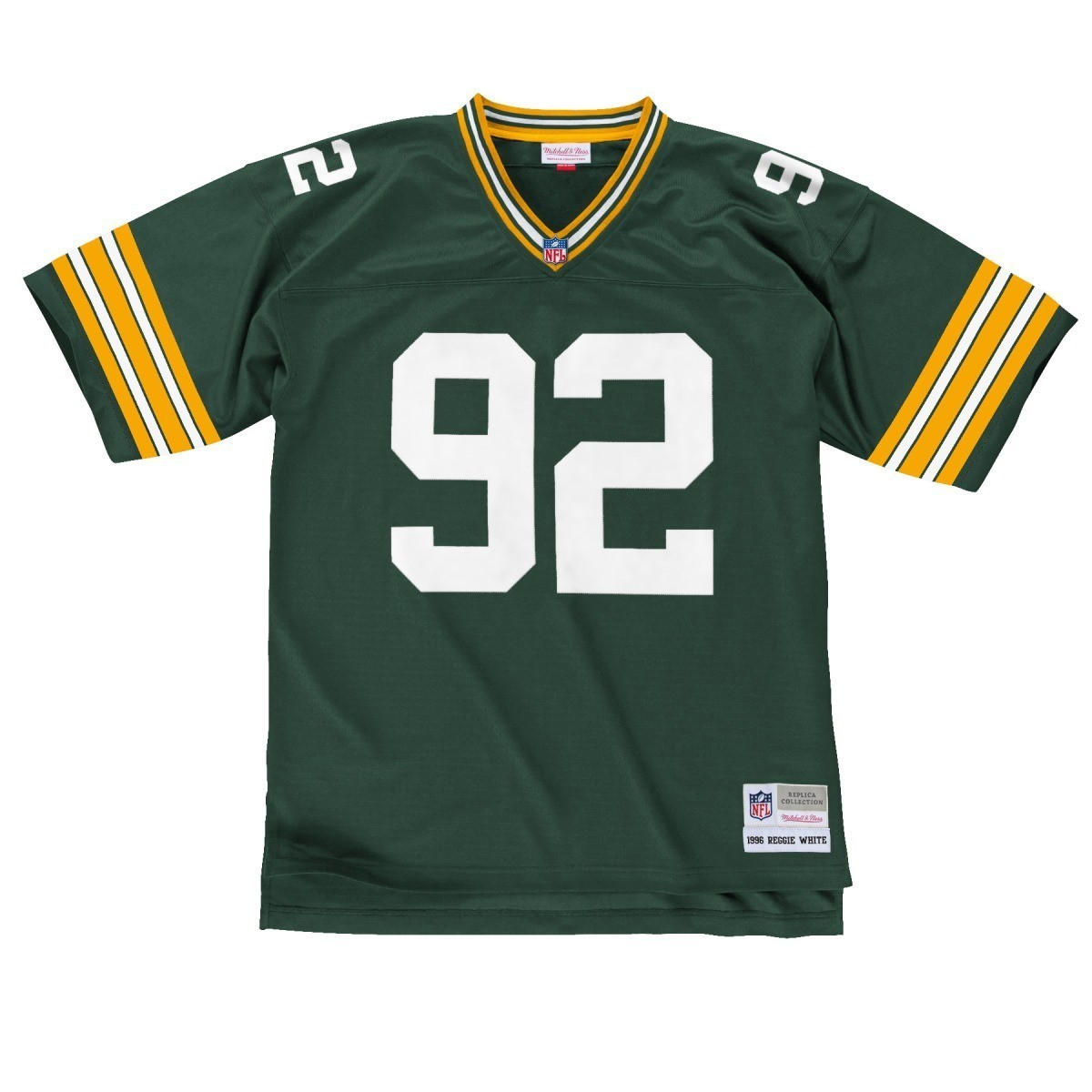 e1a8af49 Details about Reggie White Green Bay Packers NFL Mitchell & Ness Throwback  Jersey - Green