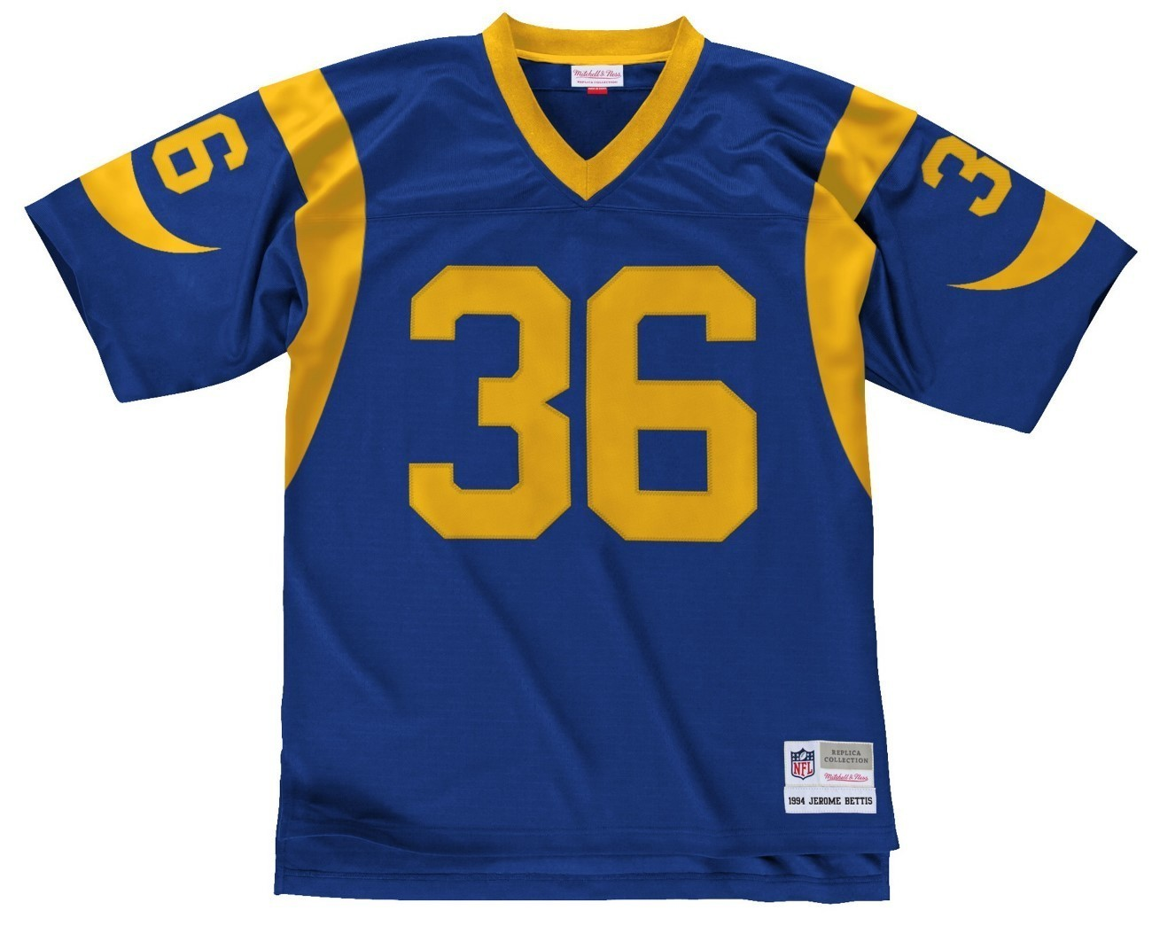 save off 5fa89 e858e Details about Jerome Bettis Los Angeles Rams NFL Mitchell & Ness Throwback  Jersey - Blue