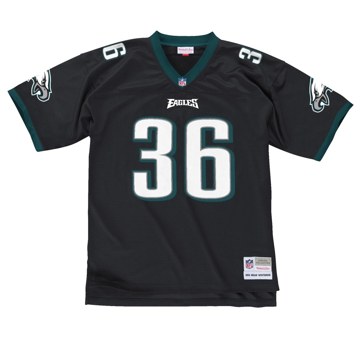 88cd1c59a3b Details about Brian Westbrook Philadelphia Eagles Men's NFL Mitchell & Ness  Black Jersey