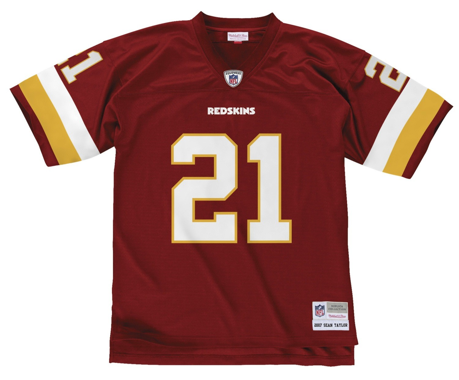 e3ab7cc28ac Sean Taylor Washington Redskins NFL Mitchell   Ness Throwback Premier Jersey