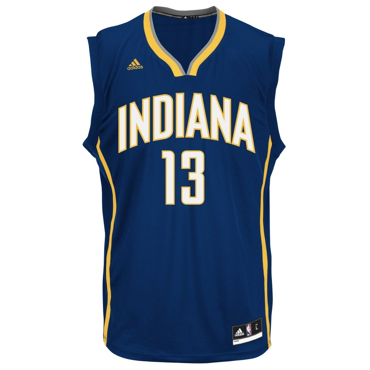 Paul George Indiana Pacers Adidas NBA Men's Blue Replica Jersey
