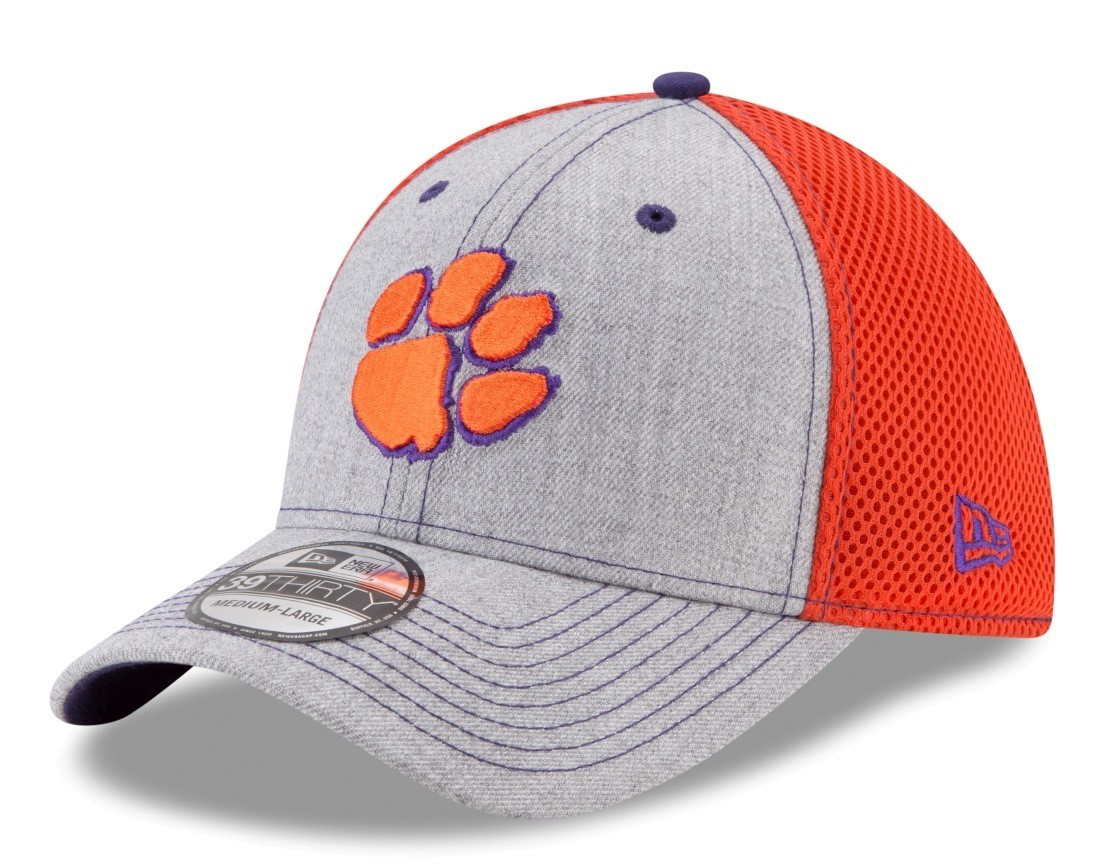 new styles 40dd7 6a34f Details about Clemson Tigers New Era NCAA 39THIRTY