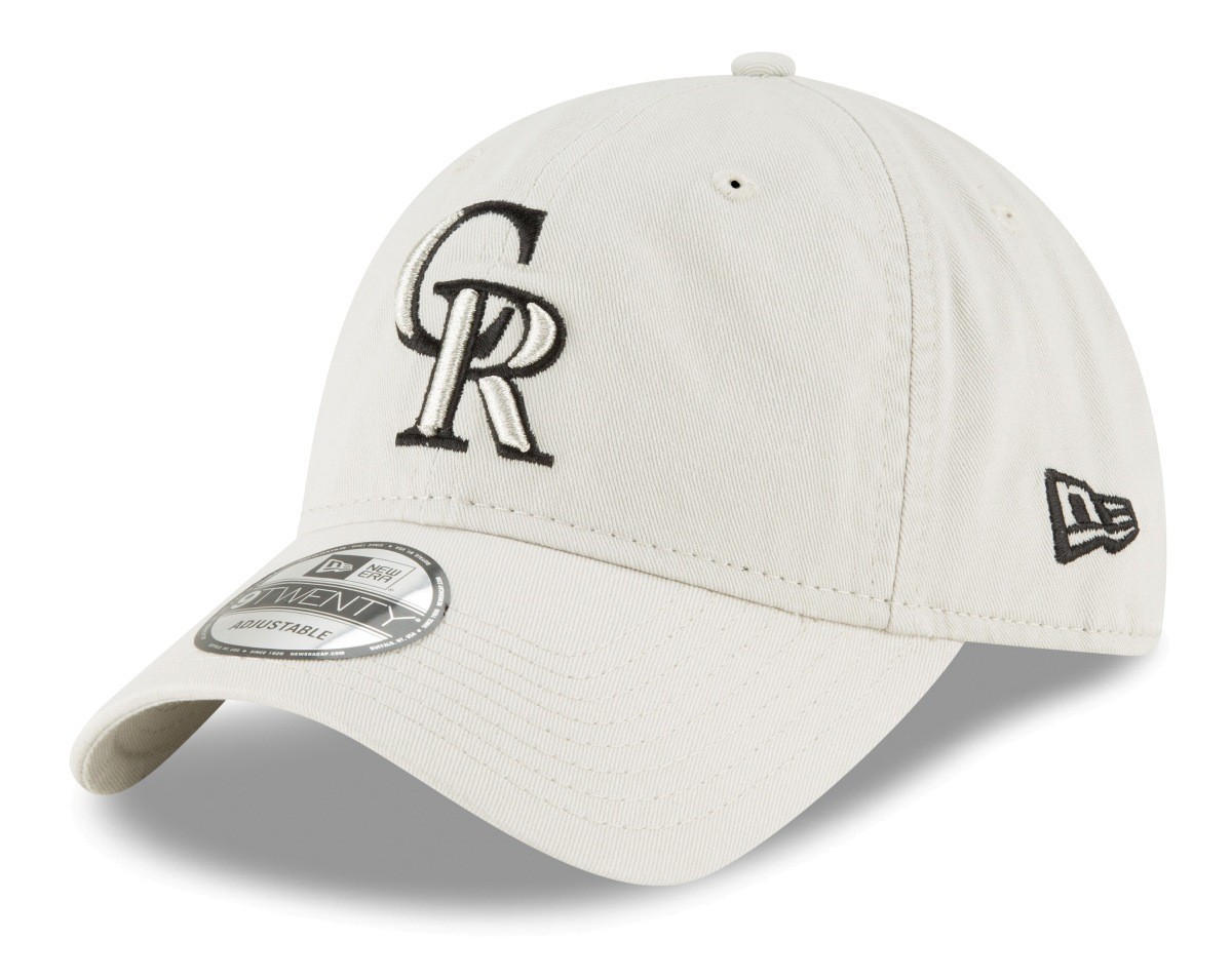 2729db499 low price details about colorado rockies new era mlb 9twenty core classic  stone adjustable hat b07be