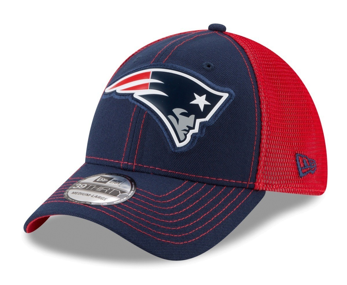ed2832d4 ... discount code for new england patriots new era nfl 39thirty fan mesh  flex fit meshback hat