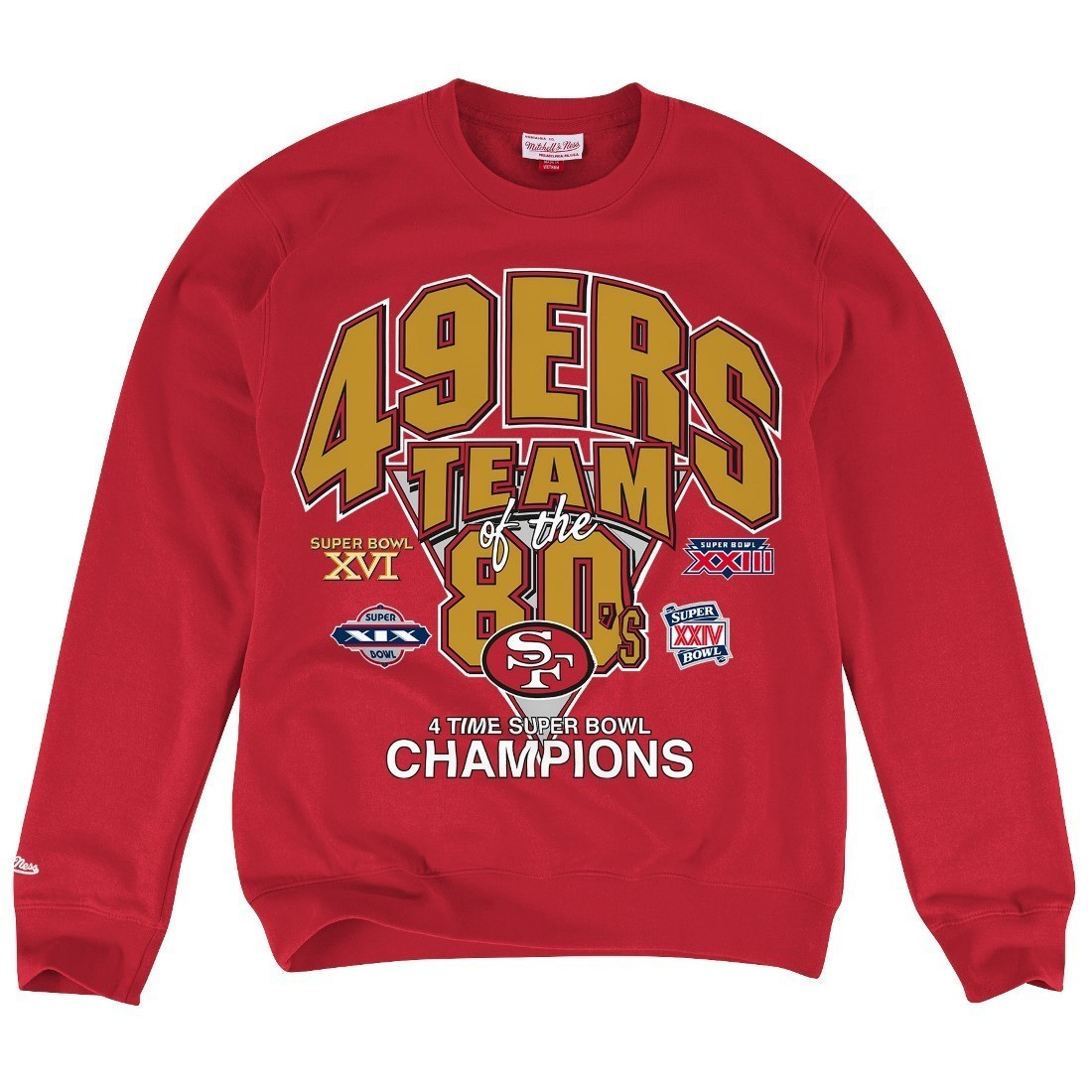 88c9eb61 Details about San Francisco 49ers Mitchell & Ness