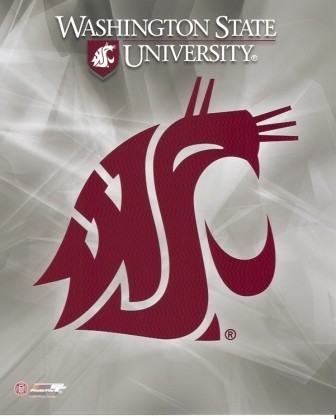 Washington State Cougars Logo 8x10 Photo
