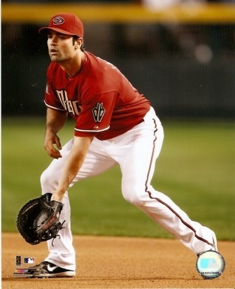 Conor Jackson Diamondbacks Fielding 8x10 Photo
