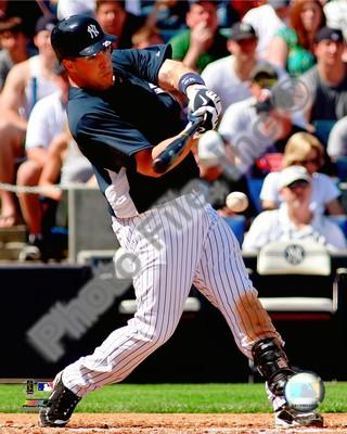 Mark Teixeira Yankees Batting 2009 8x10 Photo