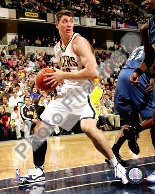 Tyler Hansborough Indiana Pacers 8x10 Photo