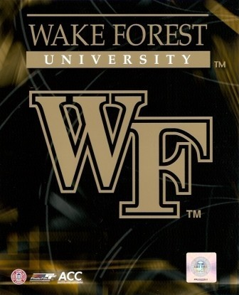 Wake Forest Demon Deacons Logo 8x10 Photo