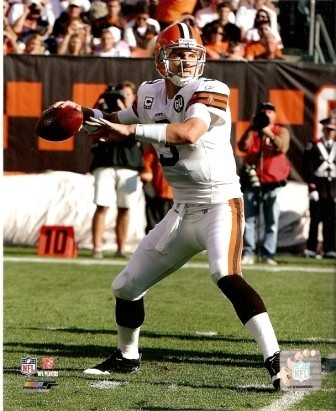 Derek Anderson Browns 8x10 Photo