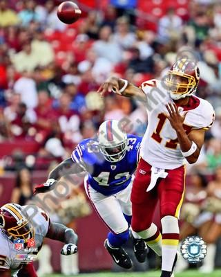 Jason Campbell Redskins Passing 8x10 Photo