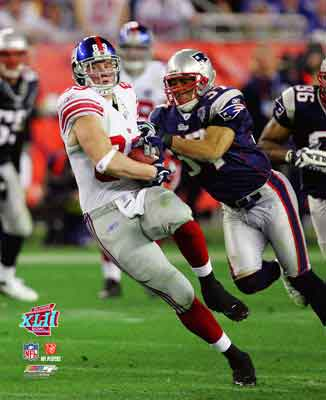 Kevin Boss Giants Super Bowl XLII 8x10