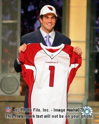 Matt Leinart Cardinals NFL Draft 8x10 Color Photo