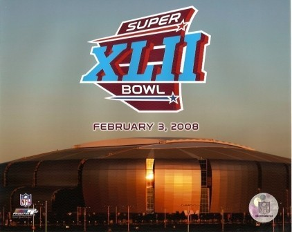 Super Bowl XLII Logo 8x10 Photo