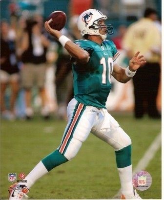 Trent Green Miami Dolphins 8x10 Photo