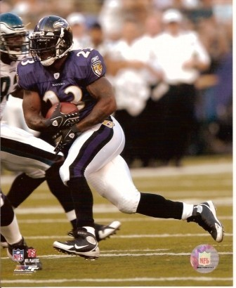 Willis McGahee Baltimore Ravens 8x10 Photo