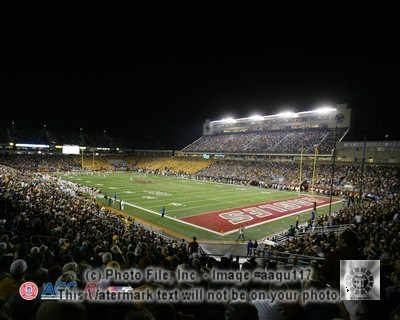 Boston College Alumni Stadium Full Color 8x10