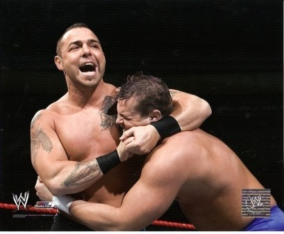 Santino Marella Headlock WWE 8x10 Photo