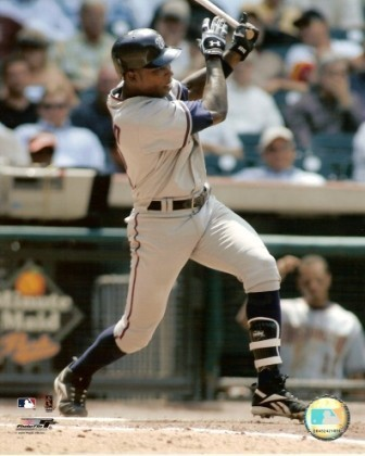 Alfonso Soriano Nationals Hitting 8x10 Color Photo