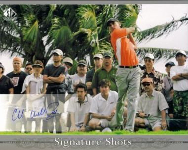 Charles Howell III Signed 8x10 Upper Deck