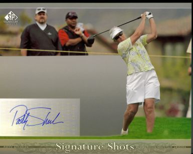 Patty Sheehan Signed 8x10 Upper Deck