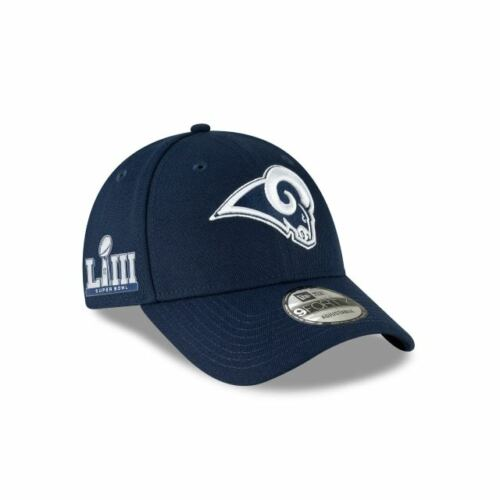 super popular 6d09a bb10a Los Angeles Rams New Era 9Forty NFL Super Bowl LIII Patch Adjustable Hat