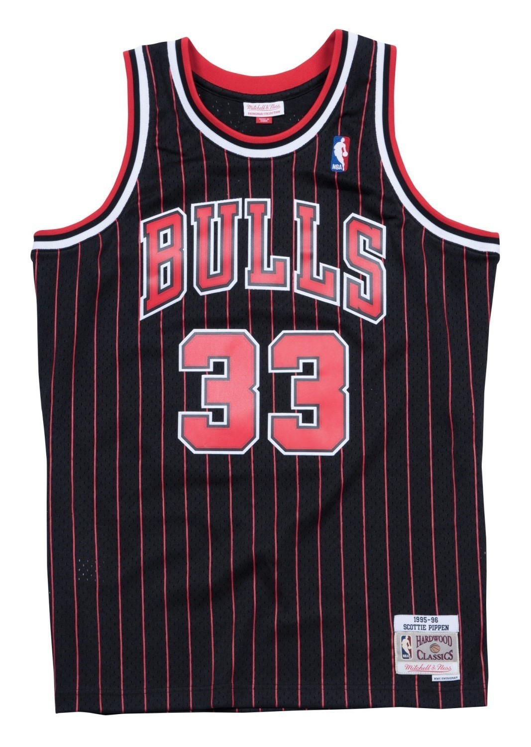 finest selection 927e3 9e556 Details about Scottie Pippen Chicago Bulls NBA Mitchell & Ness Youth  Throwback Swingman Jersey
