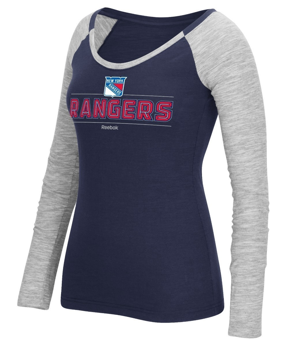 finest selection cf52a c2363 Details about New York Rangers Women's NHL Reebok