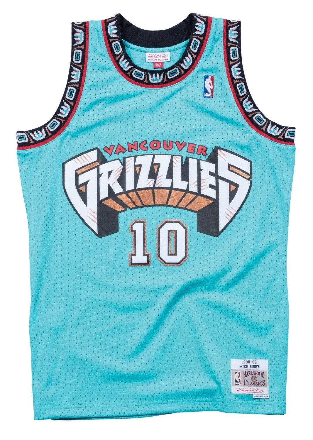 1cd203956 Details about Mike Bibby Vancouver Grizzlies Mitchell   Ness NBA Swingman 98 -99 Jersey - Teal