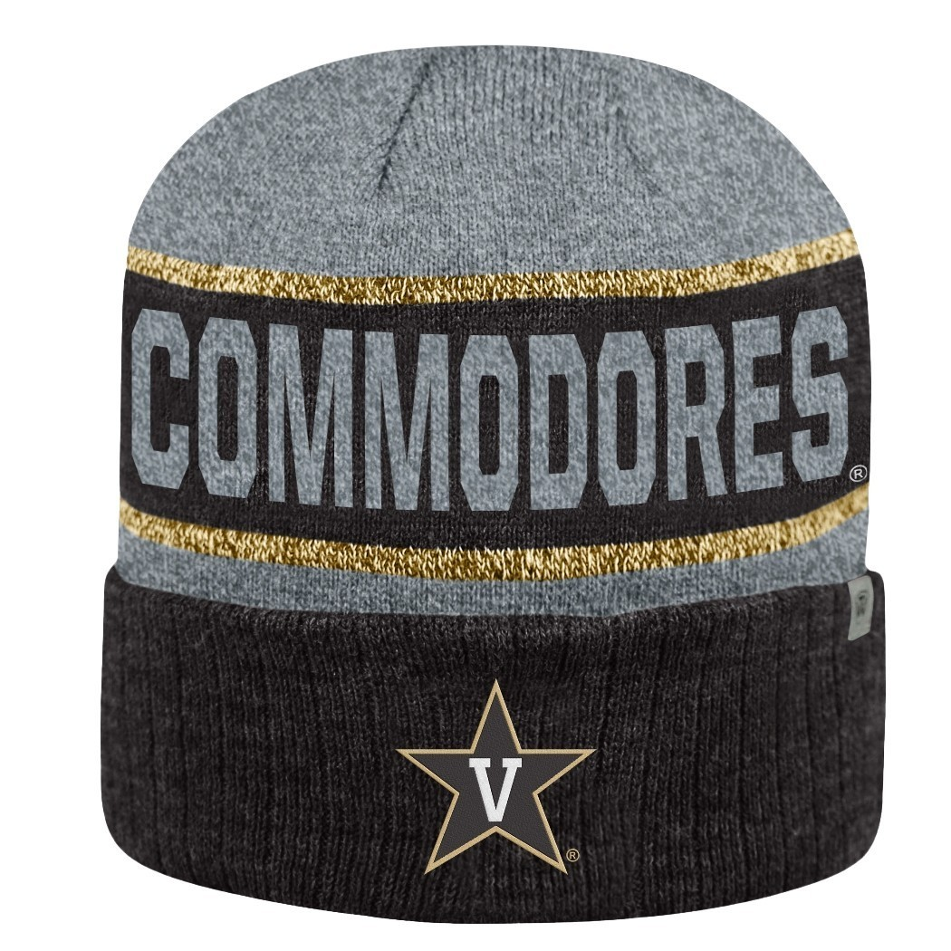 separation shoes b4a3a 1752b ... coupon code for vanderbilt commodores ncaa top of the world below zero  2 cuffed knit hat