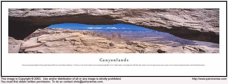 Canyonlands 13.5x40 Panoramic Photo