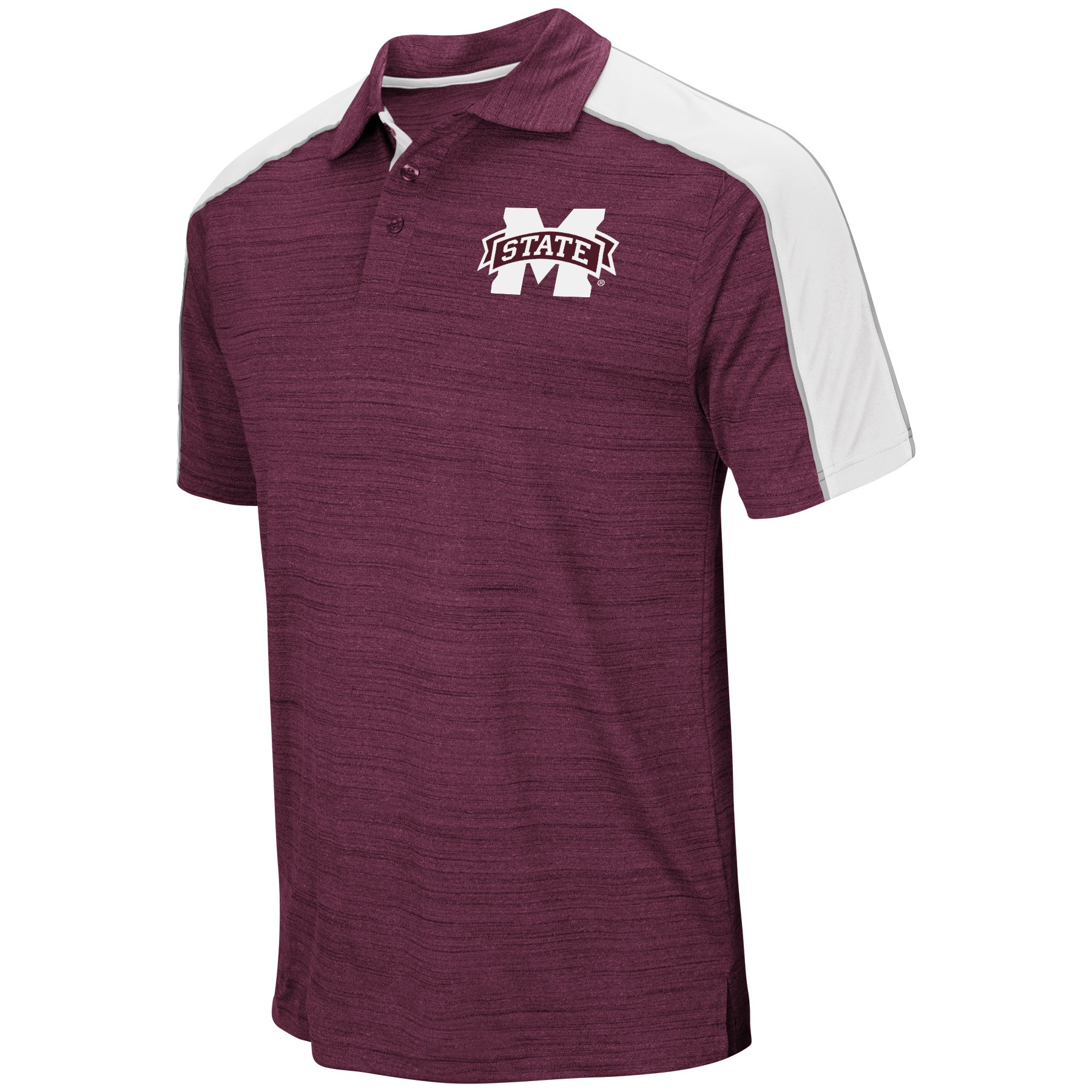 Mississippi State Bulldogs NCAA Skipper Mens Performance Polo Shirt