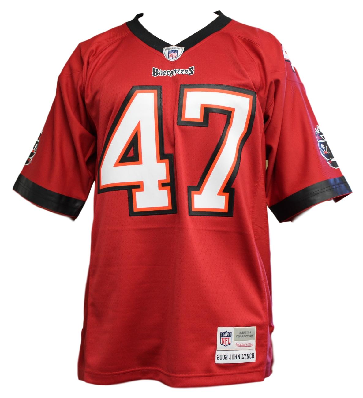 John Lynch Tampa Bay Buccaneers NFL Mitchell   Ness Throwback Premier Jersey 68b329418
