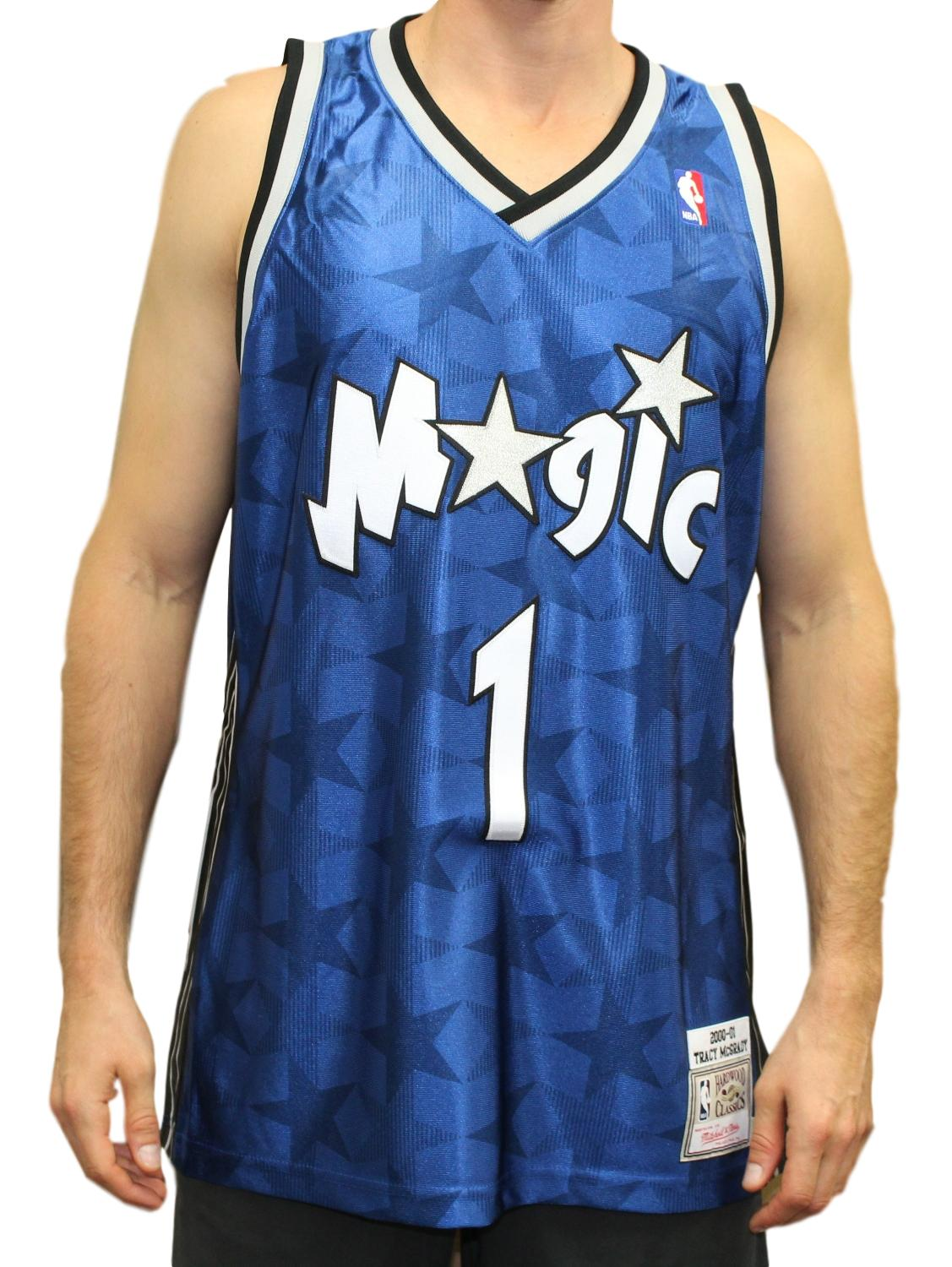 1fcc25c5f Details about Tracy McGrady Orlando Magic Mitchell   Ness Authentic 2000  Blue NBA Jersey