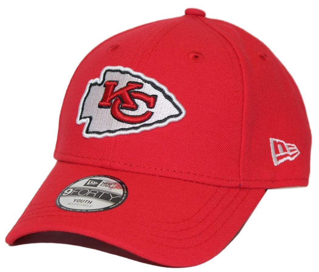 quality design 7f7ee 3d5ce Kansas City Chiefs New Era Youth NFL 9Forty